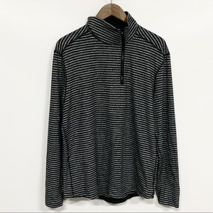 lululemon athletica | Striped 1/4 Zip Pullover